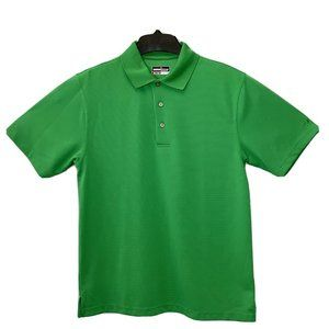 GRAND SLAM Mens Size L Green Performance Golf Polo